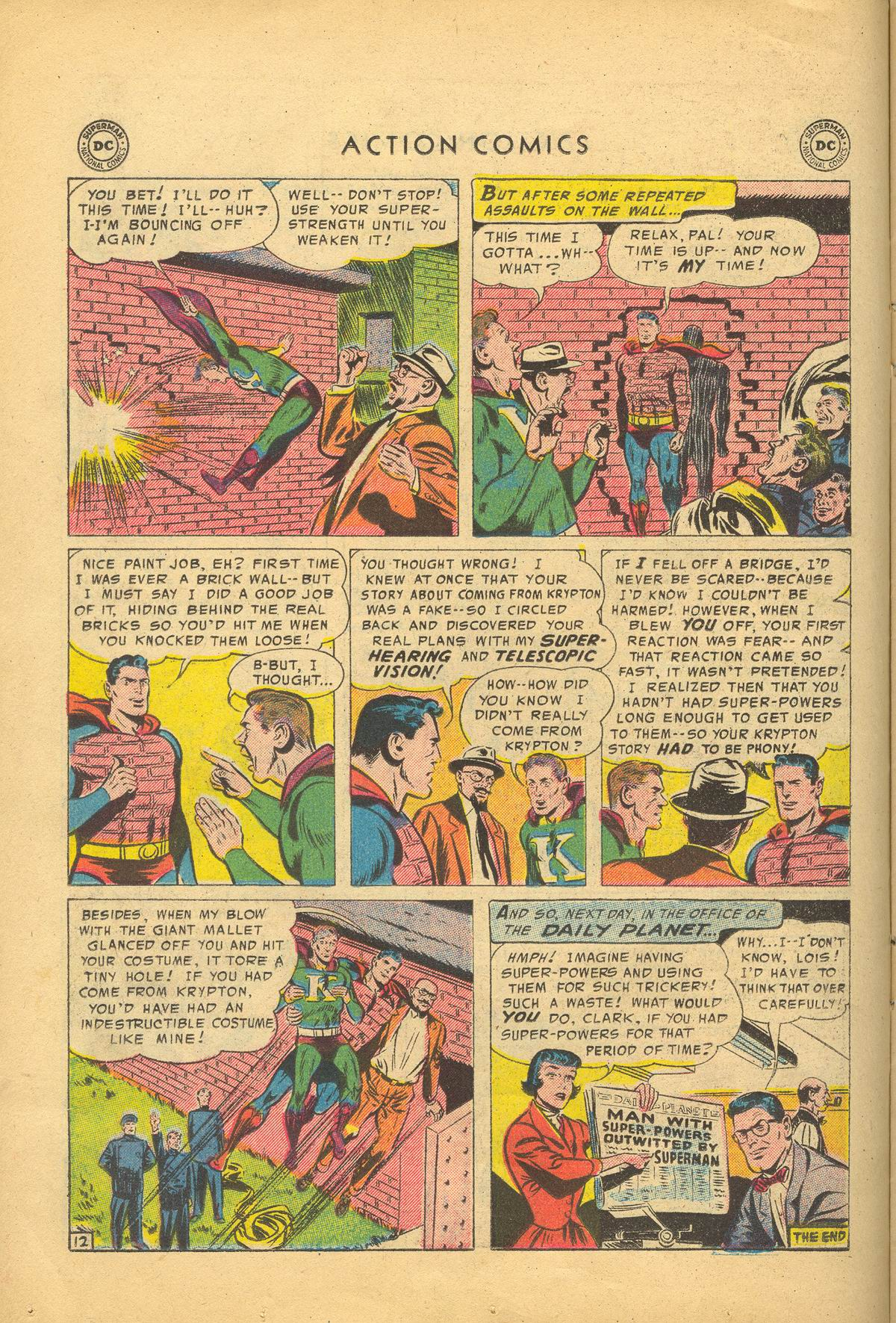 Read online Action Comics (1938) comic -  Issue #209 - 14