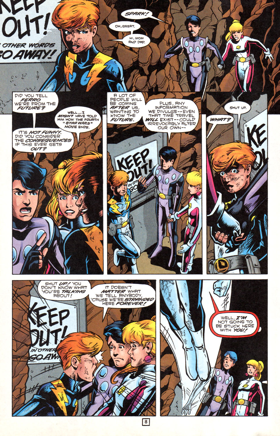 Legion of Super-Heroes (1989) 89 Page 7