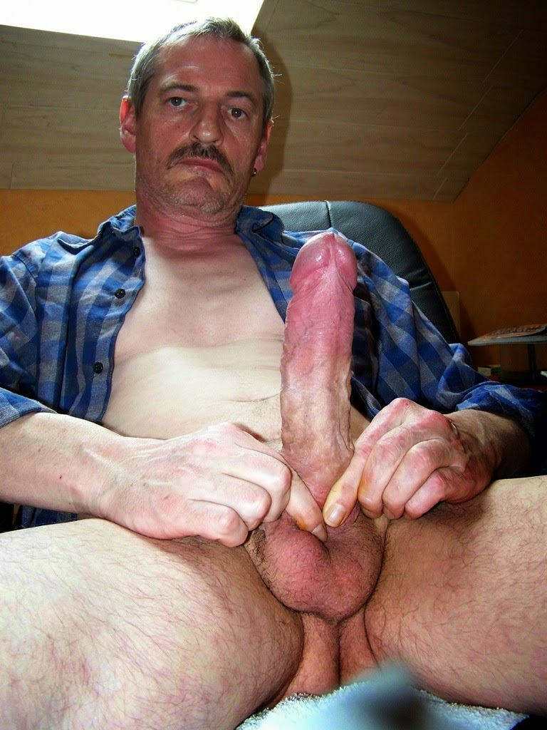 Chubby brunette fucks old man