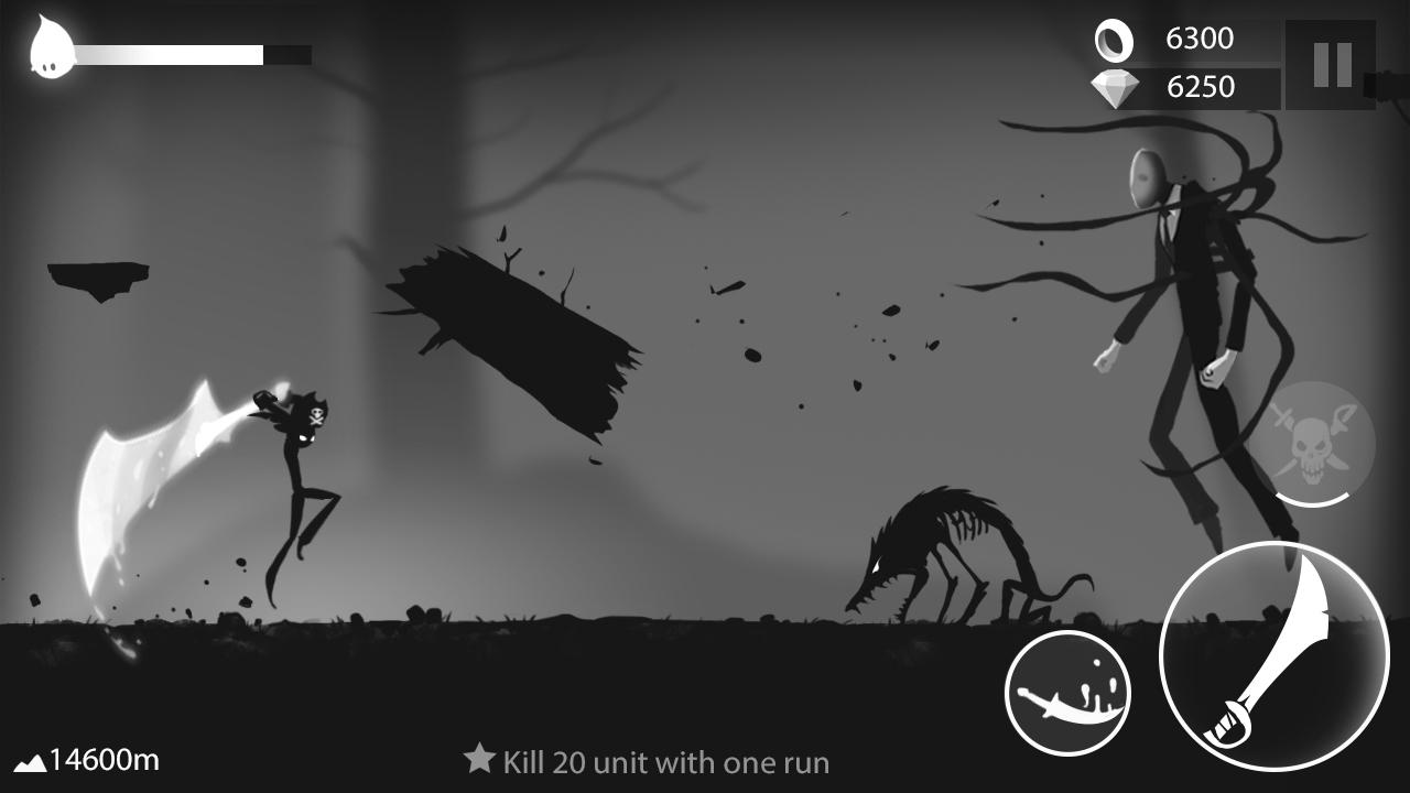 Stickman Run Shadow Adventure MOD APK Terbaru