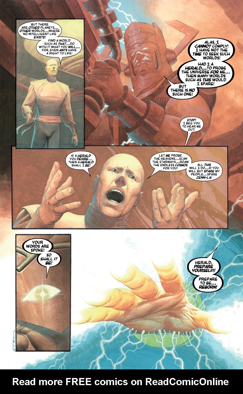 Read online Silver Surfer: Requiem comic -  Issue #1 - 14