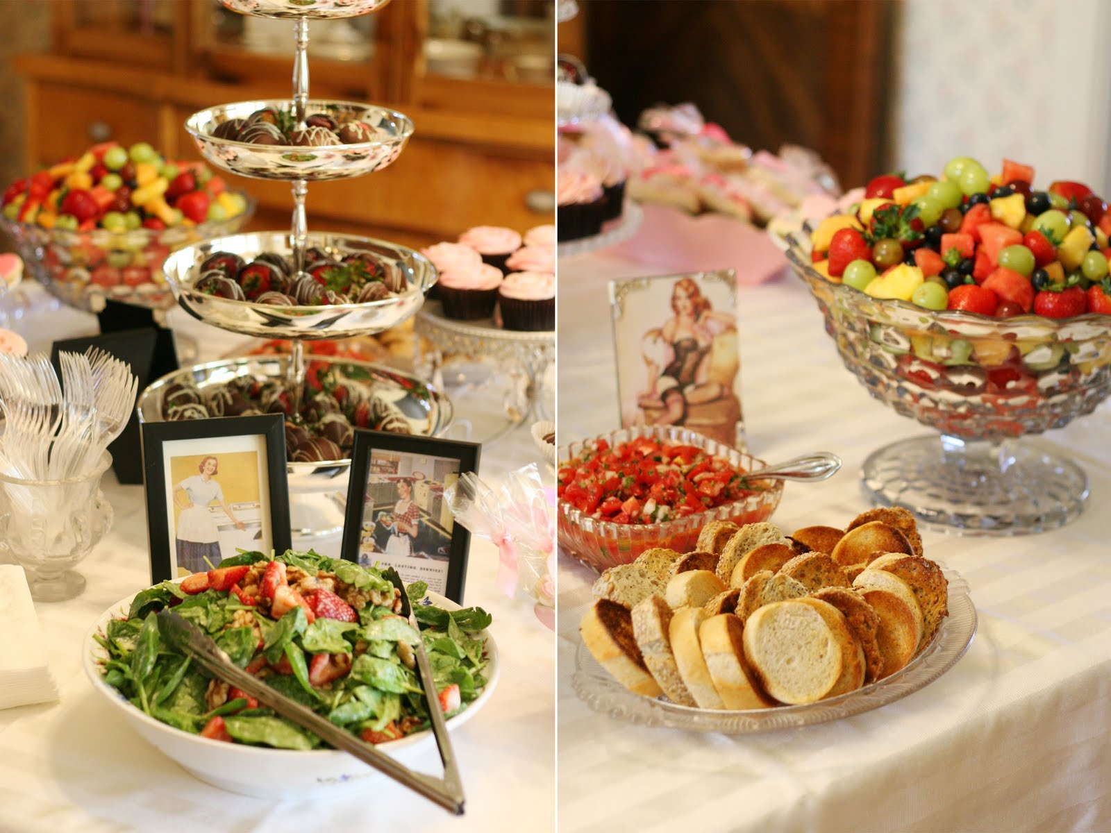 Linens And Lingerie Wedding Shower Glorious Treats