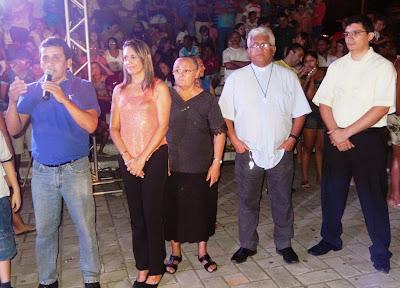 Resultado de imagem para imagens do prefeito naldinho com padre ramos sao paulo do potengi