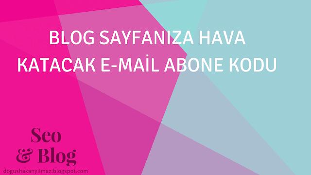 email-abone-eklentisi