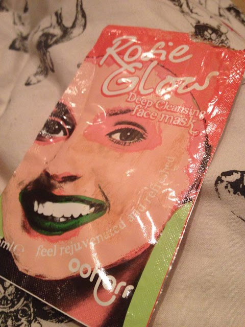 My Skin Was Real Rosie Glow - Ooharr Rose Glow Face Mask Review