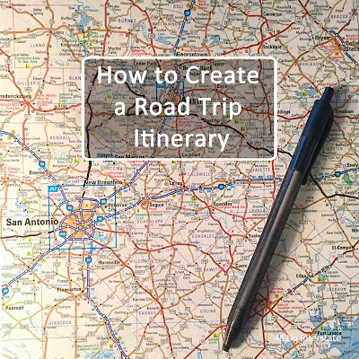 48 No Interstate: How to Create a Road Trip Itinerary