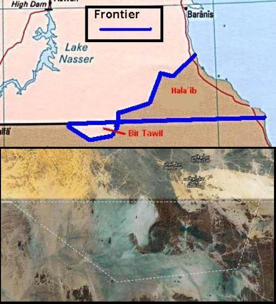 Perbatasan Mesir – Sudan (Bir Tawil)
