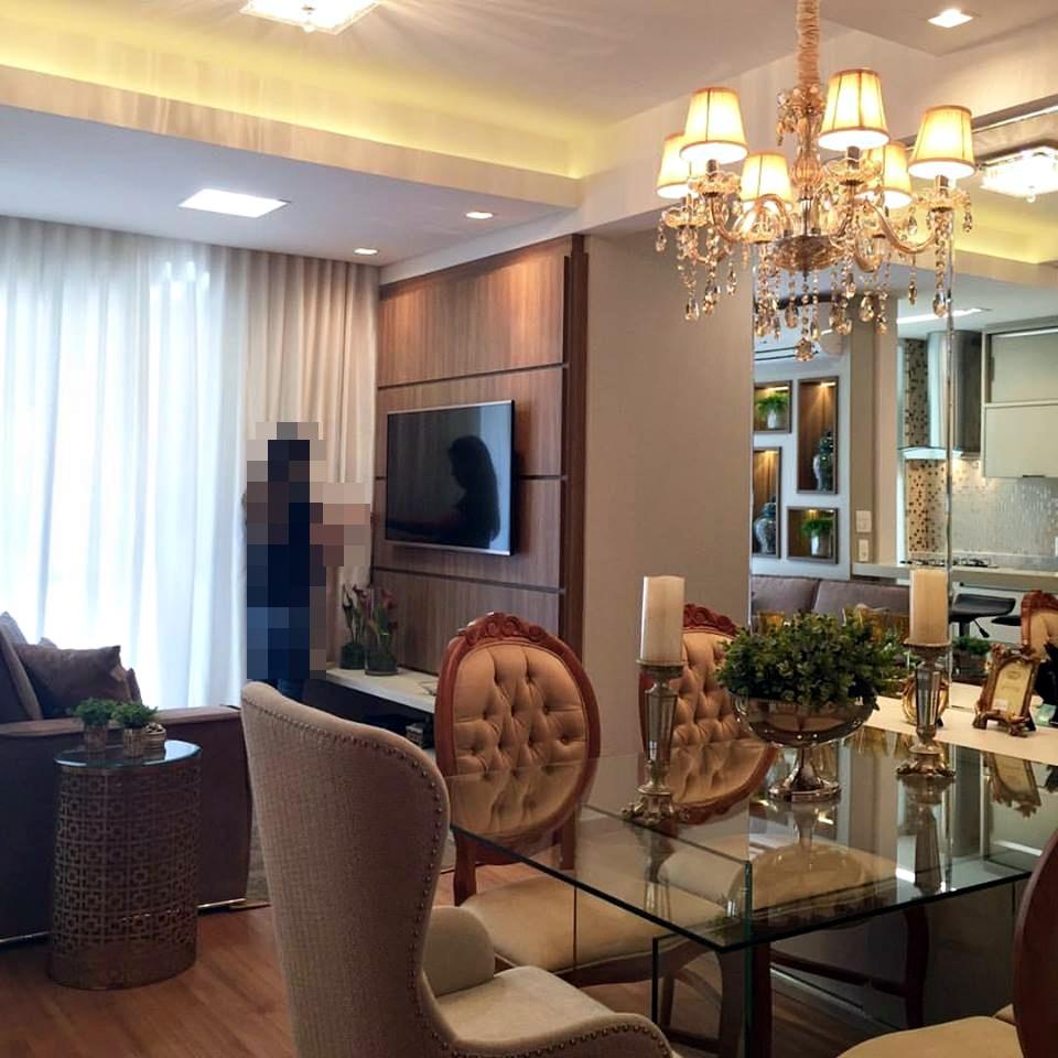 Salas e cozinha integradas no apartamento pequeno e for Estilos de apartamentos