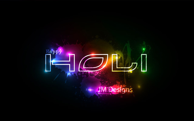 Happy Holi 2017 3D Images Free Download