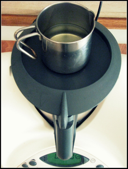 Preparing Chocolate Mimosa Cake with Thermomix