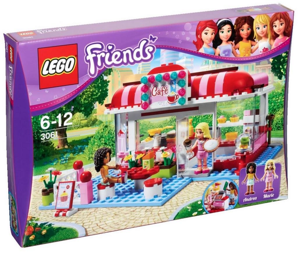 brick friends lego friends 3061 city park cafe. Black Bedroom Furniture Sets. Home Design Ideas
