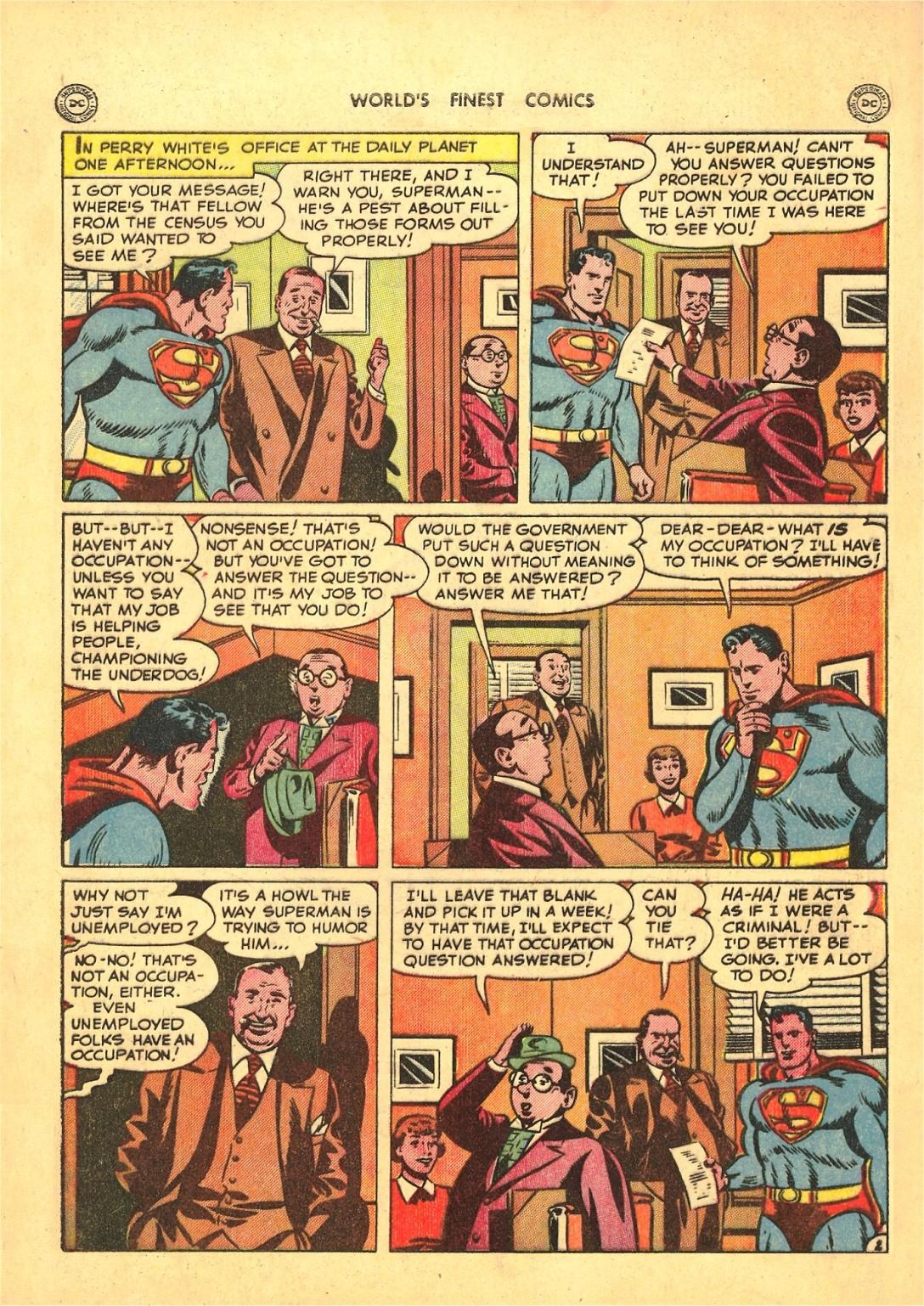 Read online World's Finest Comics comic -  Issue #50 - 4