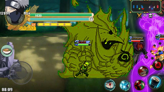 Naruto Senki MOD Unlimited Money Storm 3 v1 Apk Android Terbaru