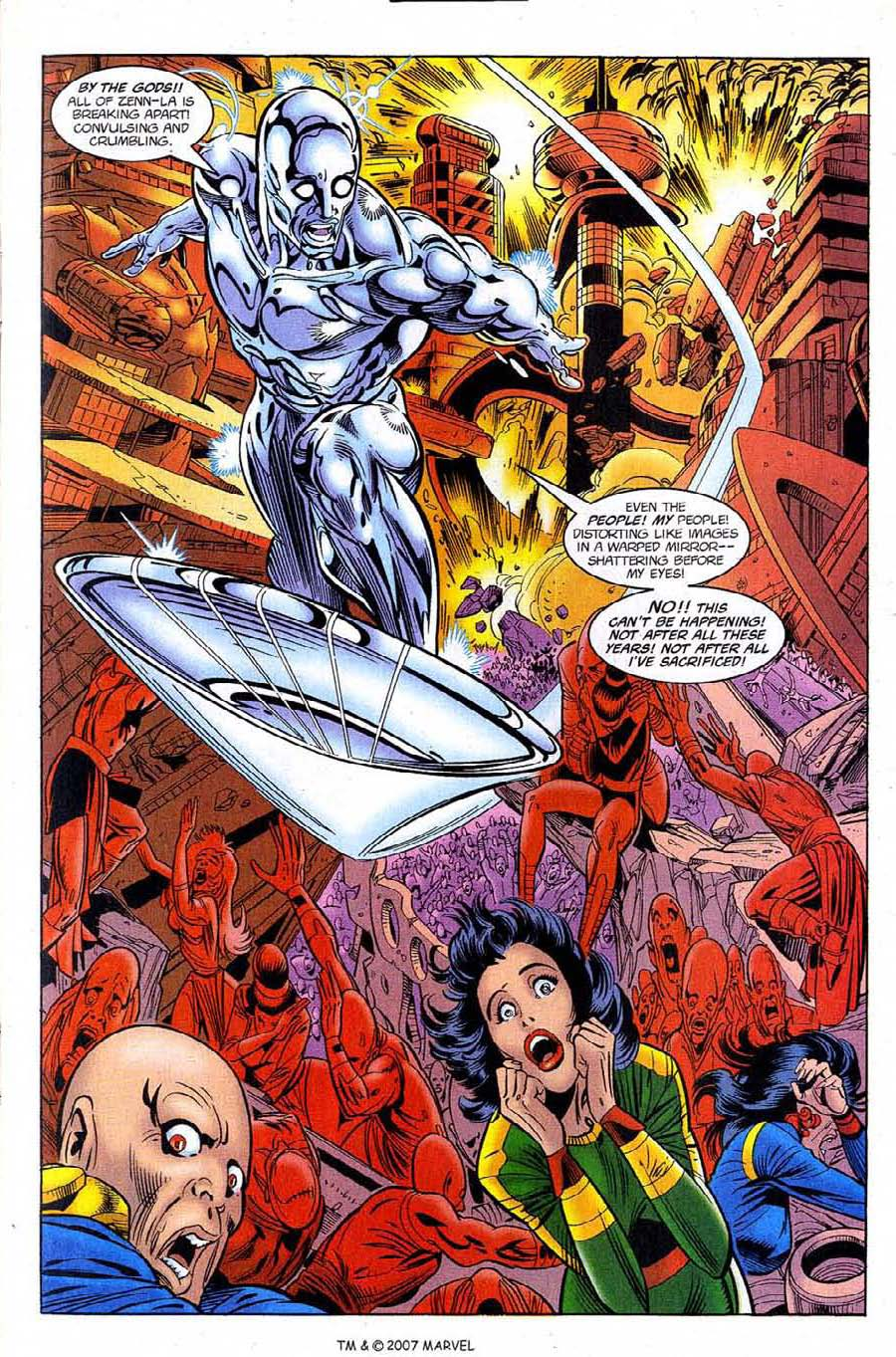Silver Surfer (1987) Issue #122 #130 - English 11