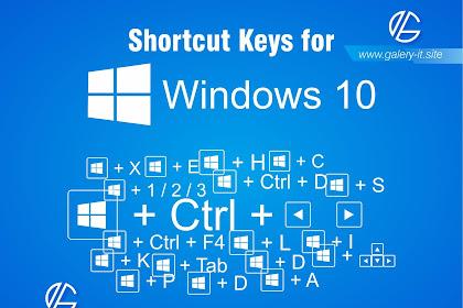 20+ Shortcuts Keyboard Windows 10 [Jalan Pintas] Penting Mudahkan Pekerjaan Anda