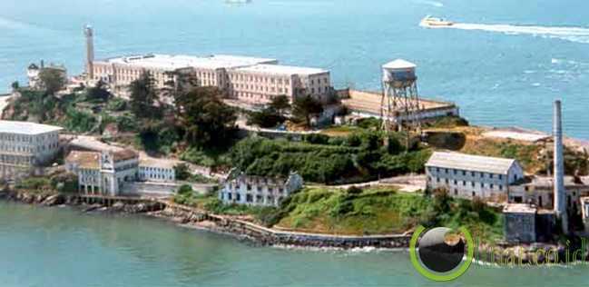 Penjara Alcatraz di San Fransisco Amerika Serikat