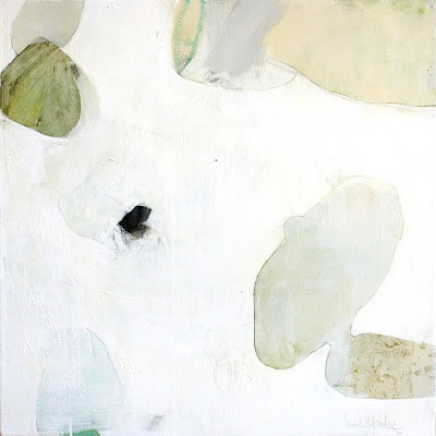 Abstract painting by Meredith Pardue, Botania III
