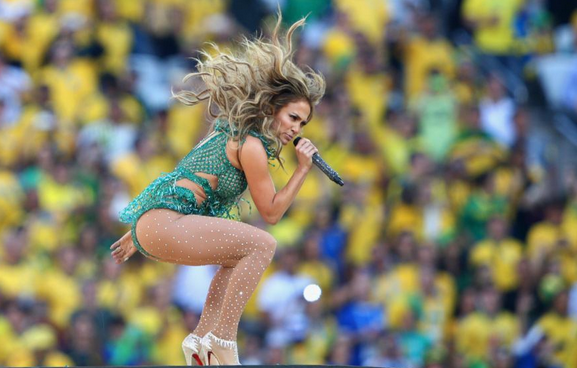 Jennifer Lopez Performing in World Cup 2014