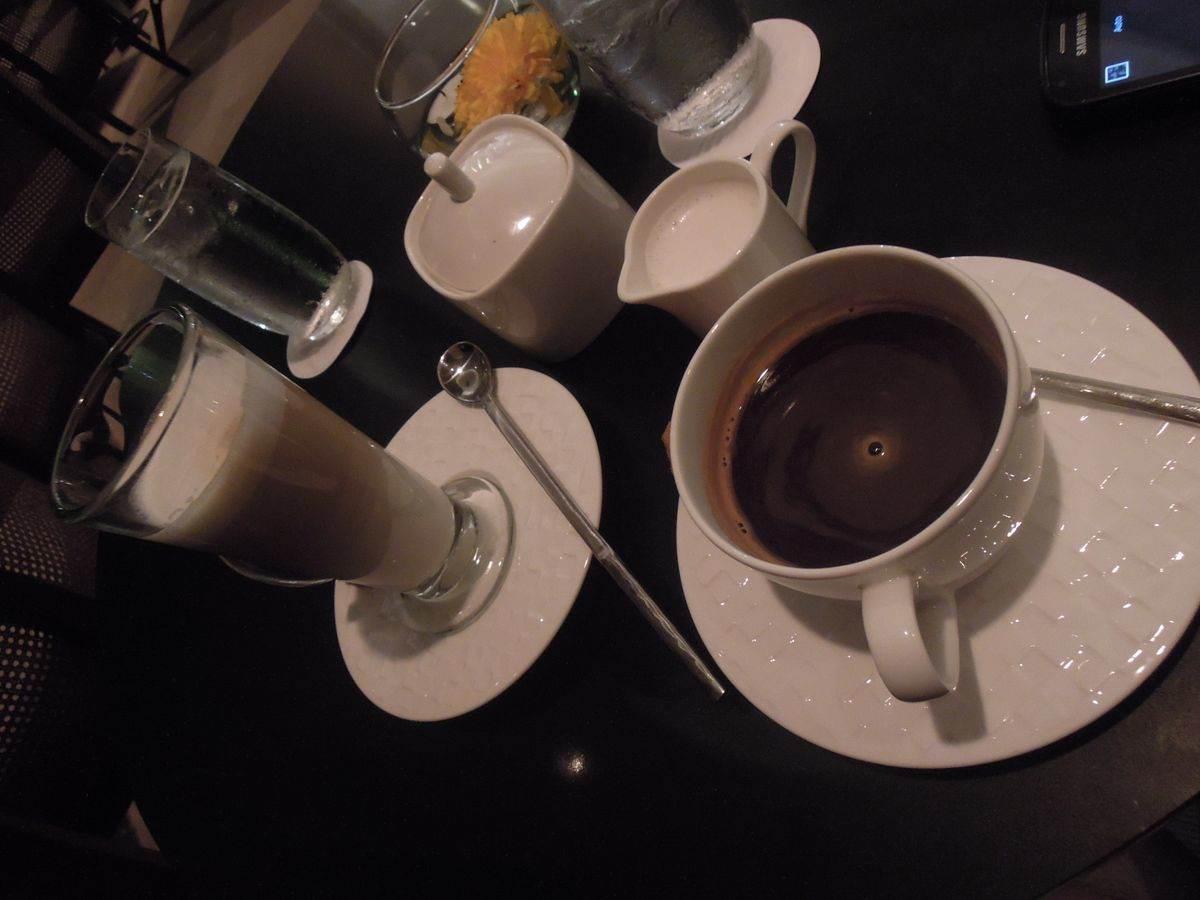 Coffee from Shangri-La's Mactan Resort and Spa's Lobby Lounge