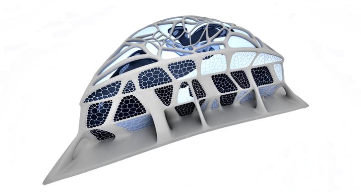 3D Printed Building second building model