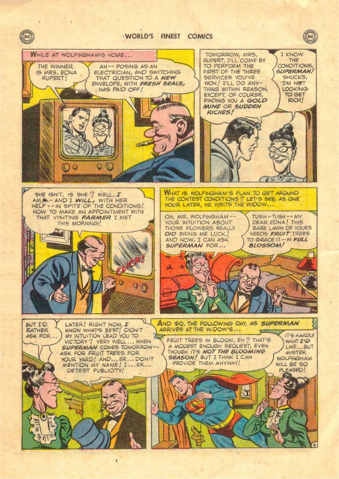 Read online World's Finest Comics comic -  Issue #52 - 6