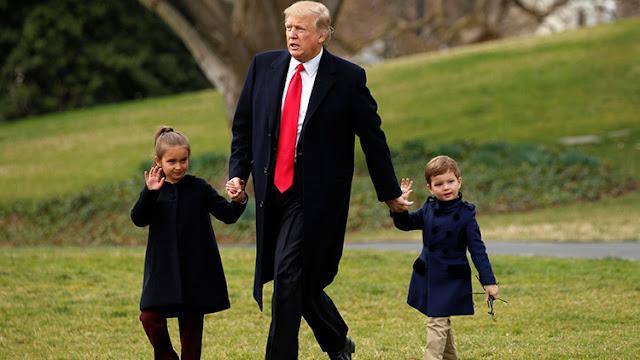 ¿Influencia del abuelo? La nieta de Trump quiere ser marine de mayor