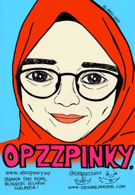 Potret Kartun Hasil Tangan Sophee Studio
