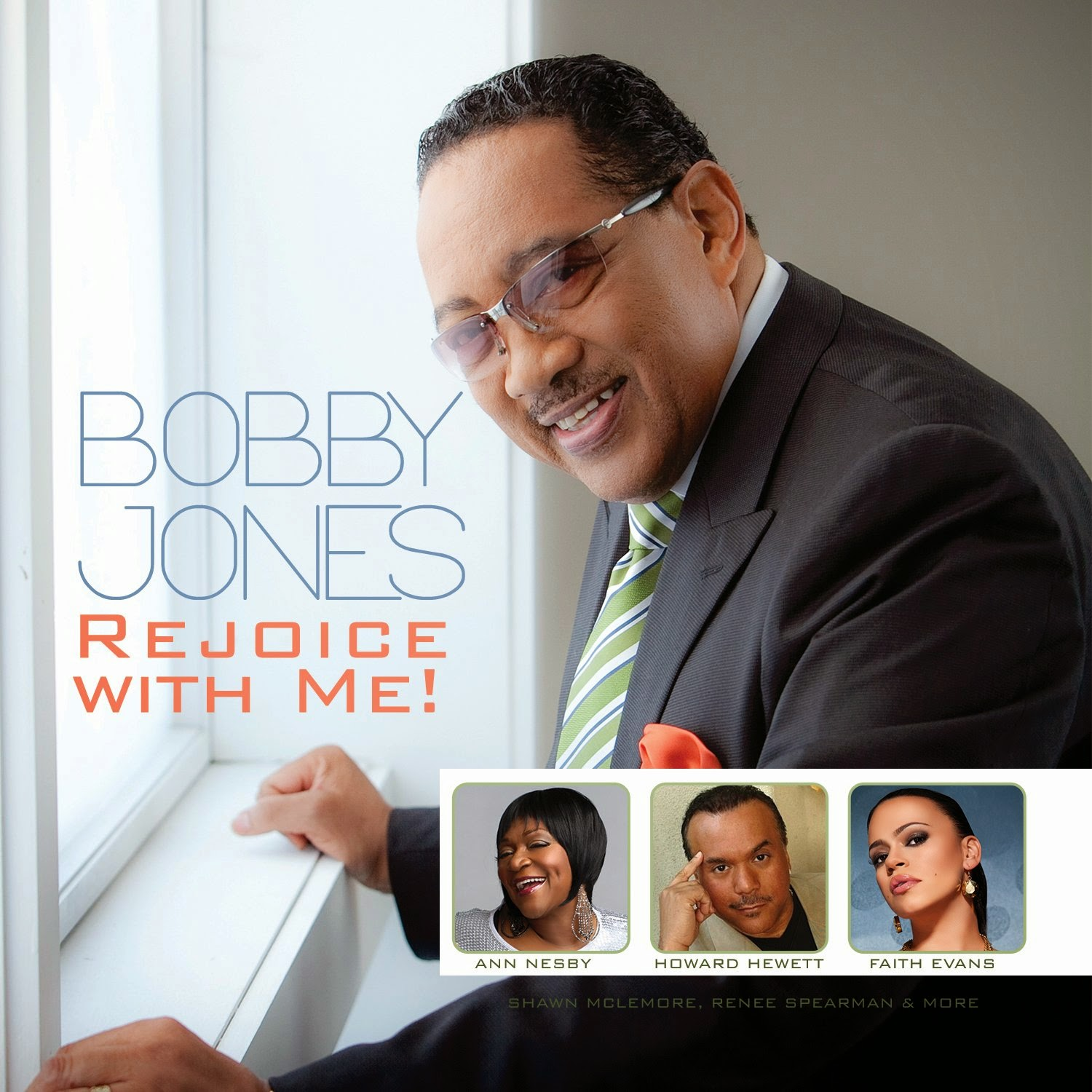 Bobby Jones - Rejoice With Me 2014 English Christian Gospel Album Download