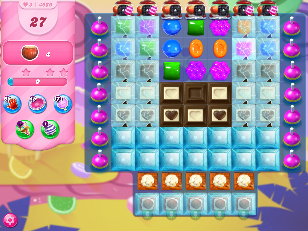 Candy Crush Saga level 4939