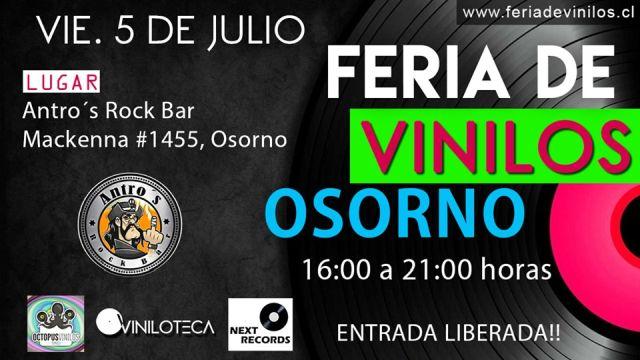 Cuarta Feria de Vinilos en Osorno
