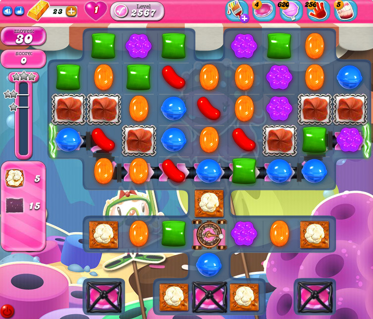 Candy Crush Saga level 2567