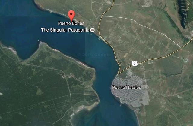Situación de Puerto Bories