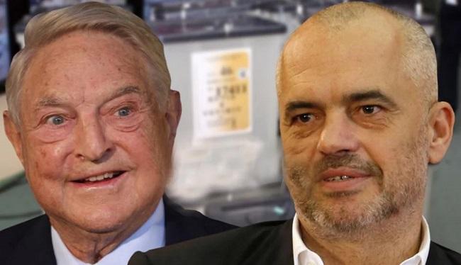 Συνάντηση Ράμα-Σόρος στη Βιέννη – Πήγε να λάβει εντολές ο Αλβανός πράκτορας που τον έκαναν πρωθυπουργό