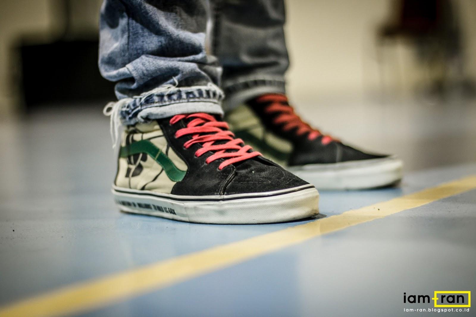 3fad6a70e684a7 ... Photo by iam.ran06 100% authentic 8e64f df6c9  ON FEET Salim - Nike Air  Jordan 3  ON FEET Anggie Raditya - Vans Era X Beams (40th Anniversary) ...