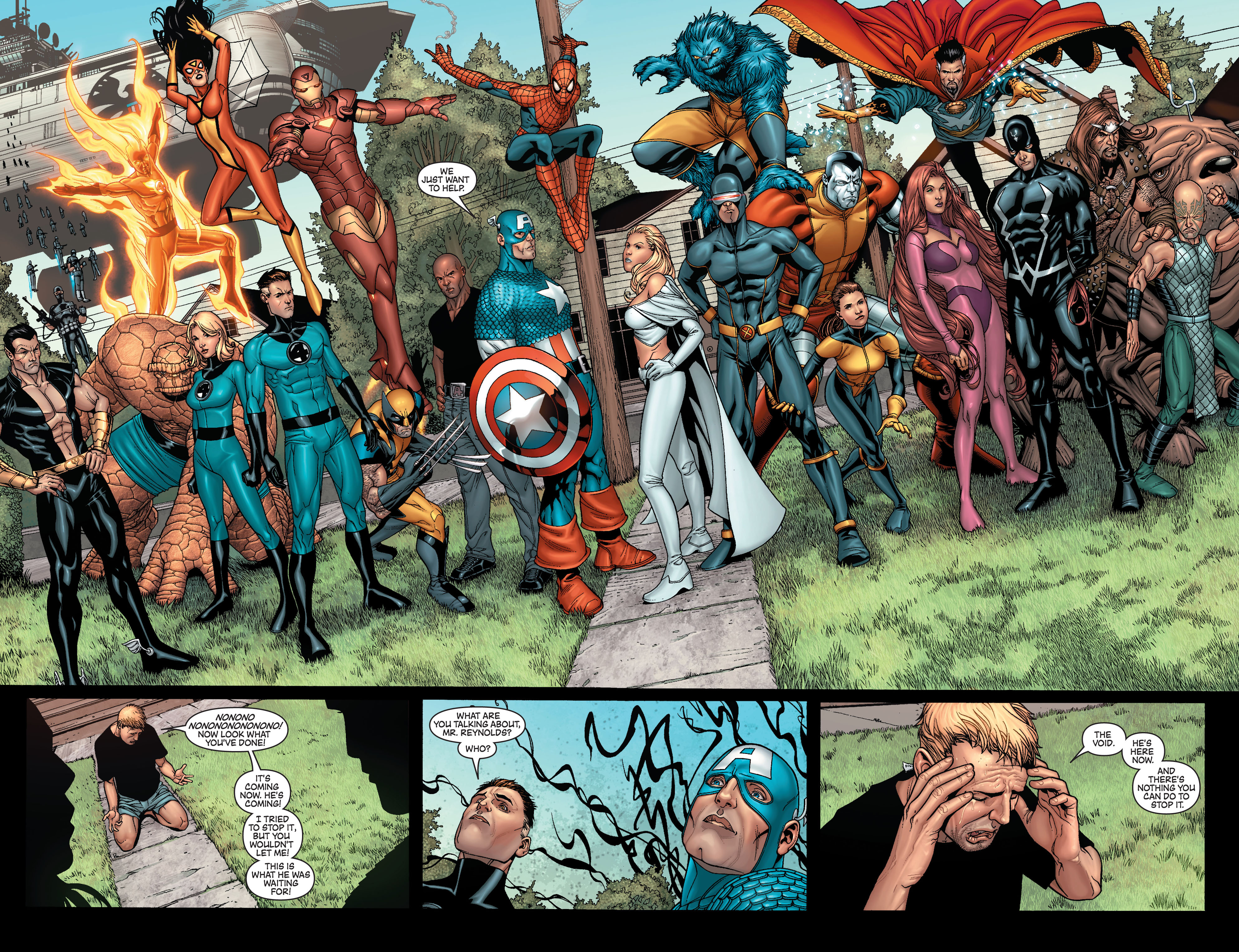 New Avengers (2005) issue 8 - Page 20