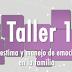 """Programa Nacional de Convivencia Escolar. TALLER 1 para PADRES de Familia. """"AUTOESTIMA Y MANEJO DE LAS EMOCIONES EN LA FAMILIA""""."""