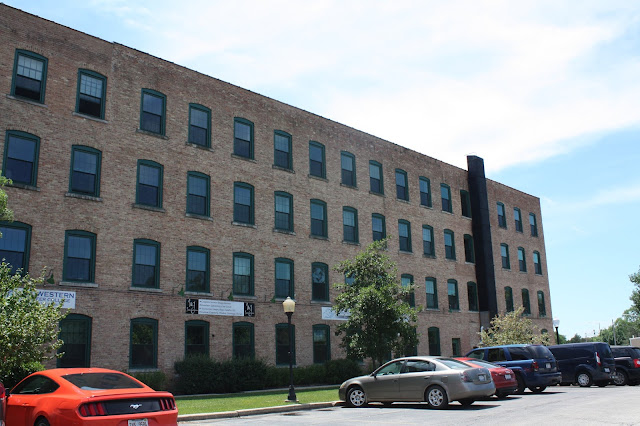 Kroehler furniture factory in Naperville, Illinois