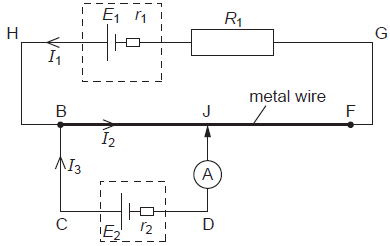 A potentiometer circuit that is used as a means of