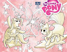 My Little Pony Friendship is Magic #18 Comic Cover Double Variant