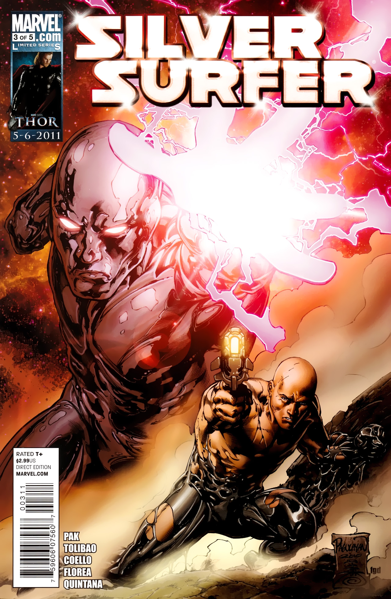 Read online Silver Surfer (2011) comic -  Issue #3 - 1