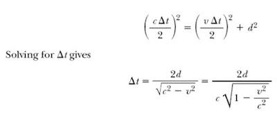 تمدد الزمن النسبية