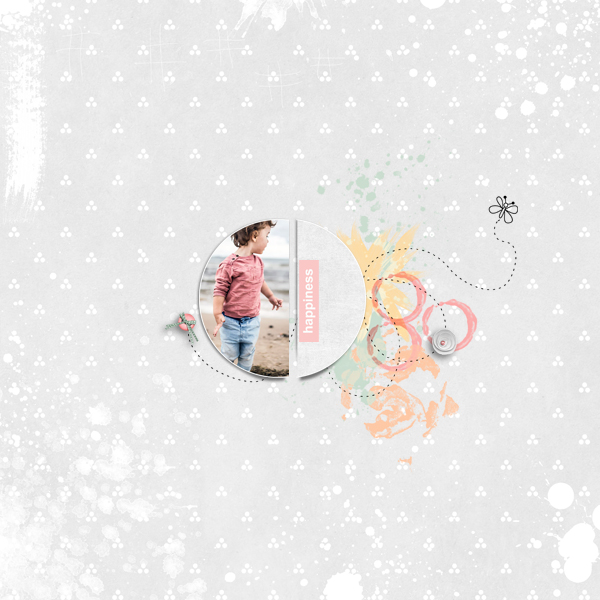 happiness © sylvia • sro 2018 • little sprouts pickle pairs collab kit by lorieM designs & jen yurko
