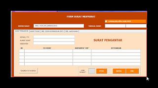 Download Aplikasi Surat Terbaru 2016 Format Excel