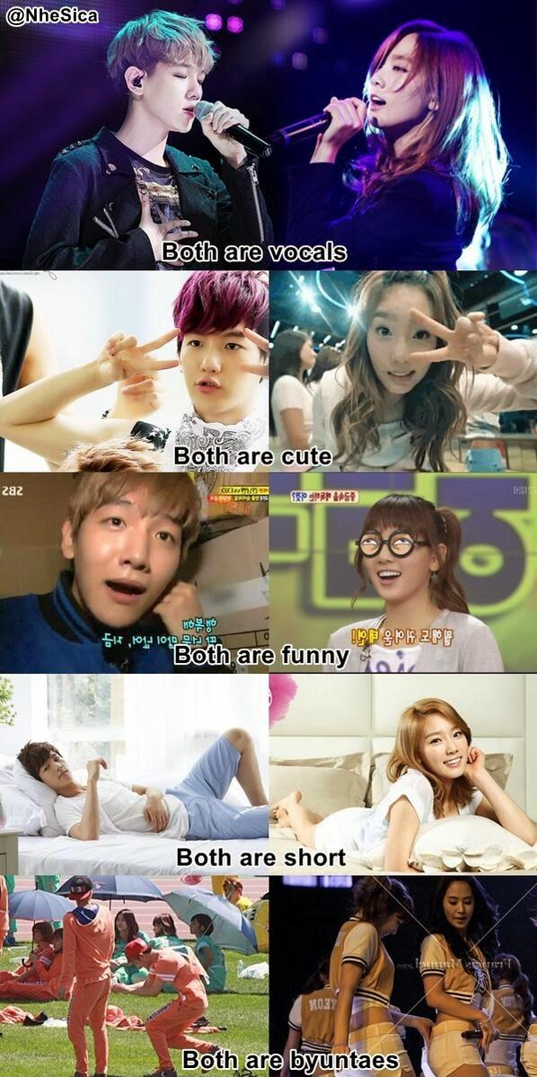 I AM CHIALYNN: Baekhyun and Taeyeon
