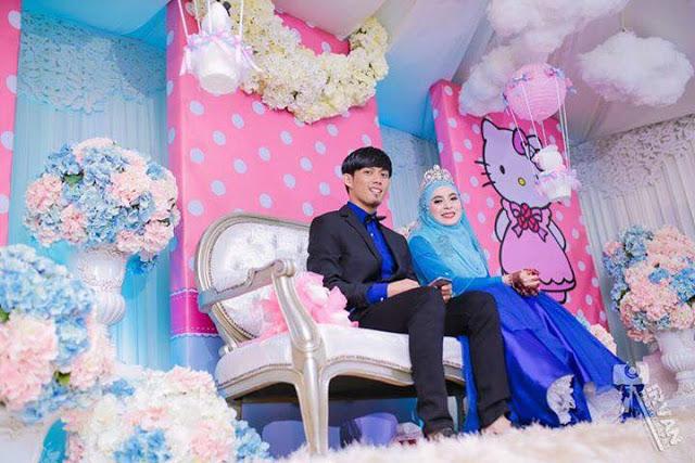 Sungguh Unik Pernikahan Dengan Tema Hello Kitty 76matadunia