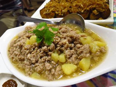 Baba Wins' Peranakan Cuisine, meat potato stew