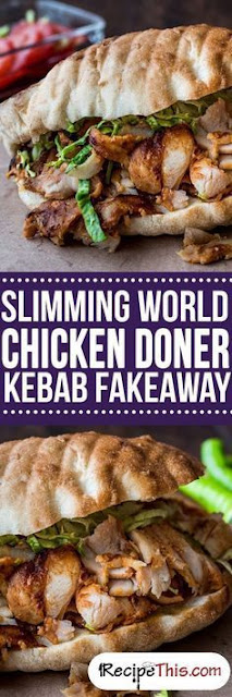 Slimming World Chicken Doner Kebab Fakeaway