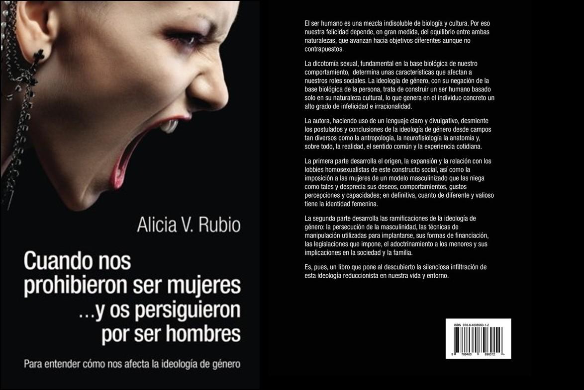 """Ya está disponible en Amazon """"Cuando nos prohibieron ser mujeres… y os  persiguieron por ser hombres"""", el libro de Alicia V. Rubio que pone al  descubierto la ..."""