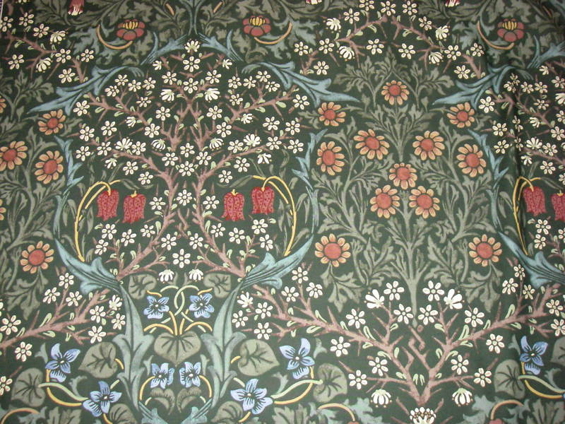 ART & ARTISTS: William Morris Wallpaper & Textiles