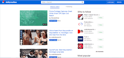 Dailymotion youtube alternative